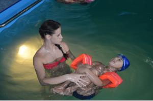 ЛФК в бассейне для детей до 7 лет