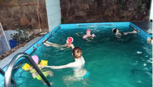 ЛФК в бассейне до 7 лет